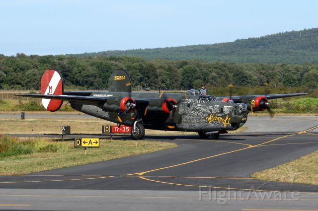 Consolidated B-24 Liberator (NX224J) - Norwood, MA