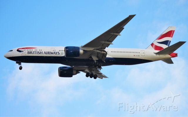 BOEING 777-200LR (G-VIIY)