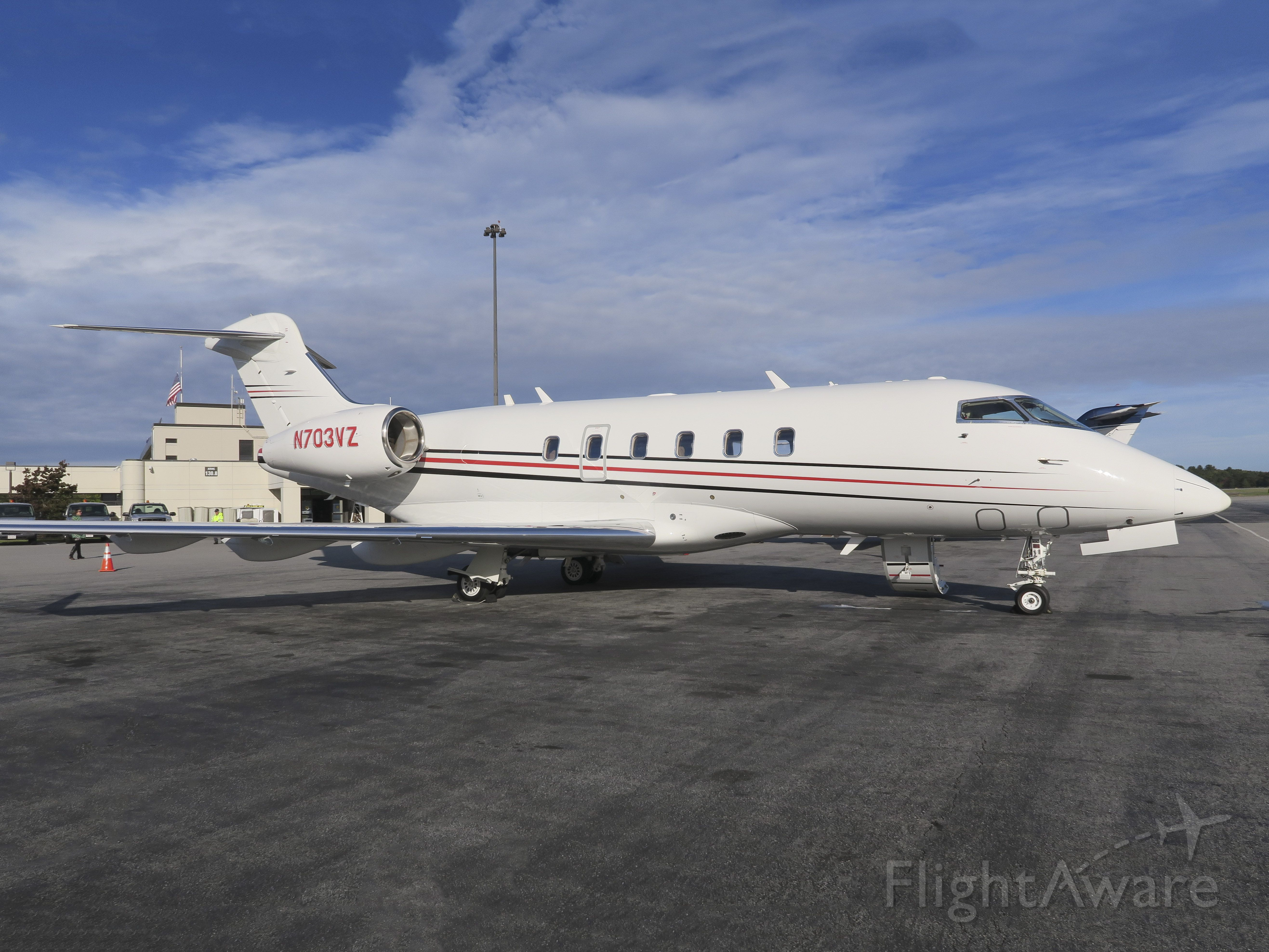 Bombardier Challenger 300 (N703VZ) - No location as per request of the aircraft owner.