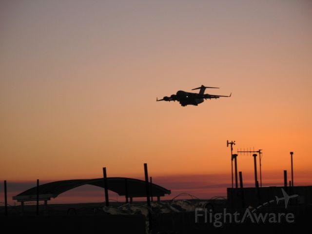 Boeing Globemaster III — - C-17 Early morning arrival at Ali Al Salem, Kuwait 2007
