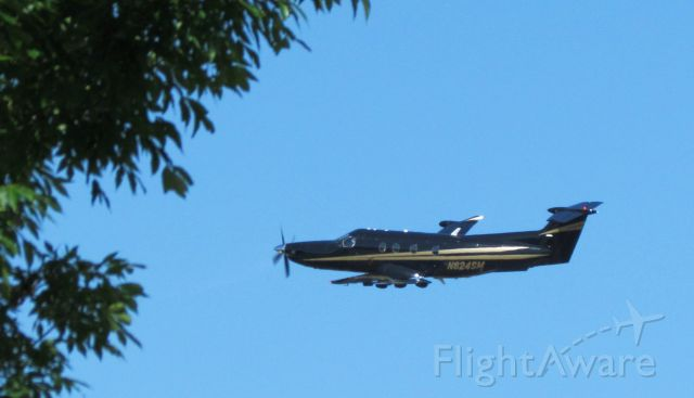 Pilatus PC-12 (N824SM) - Almost  Home