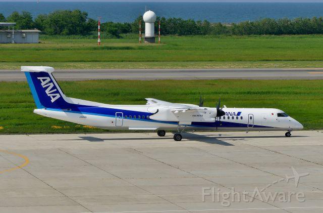 de Havilland Dash 8-100 (JA852A) - Niigata(KIJ) 2018/06/04