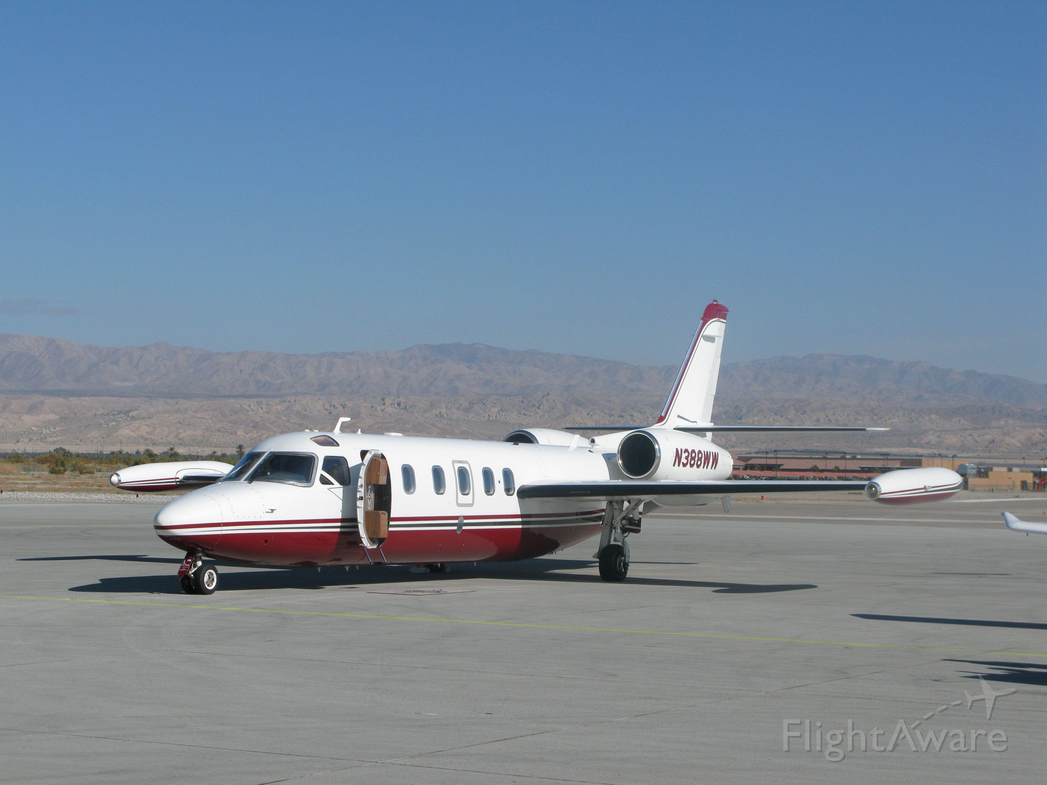 N388WW — - ISRAEL AIRCRAFT INDUSTRIES Model 1124 at Jacqueline Cochran (Thermal), CA