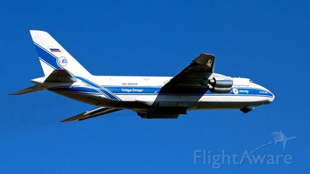 Antonov An-124 Ruslan (RA-82044) - VDA5383 on rotation from Rwy 16R to begin a flight to KLCK on 7.20.18. (ln 06-08 / msn 9773054155109).