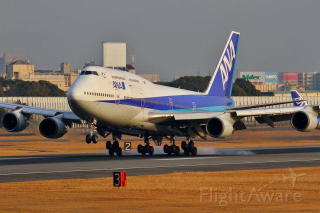 Boeing 747-400 (domestic, no winglets) (JA8961)