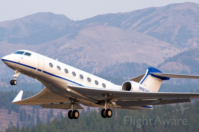 Gulfstream Aerospace Gulfstream G650 (N887WT)