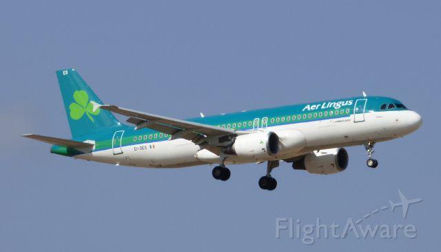 Airbus A320 (EI-DES) - EI-DES Aer Lingus Airbus A320-214 LPA/GCLP Spotting