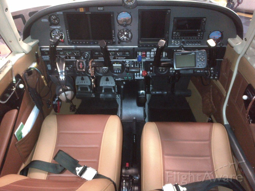 Piper Cherokee Arrow (N65KF) - New ADS-B Avionics and Interior to start the next 45 years of flying!