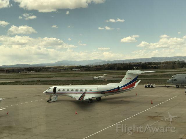 Gulfstream Aerospace Gulfstream G650 (N100A)