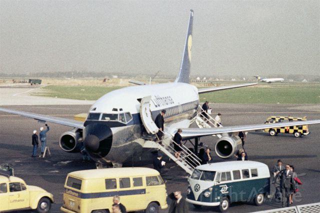 Boeing 737-100 (D-ABED) - 1968 at Düsseldorf (EDDL)
