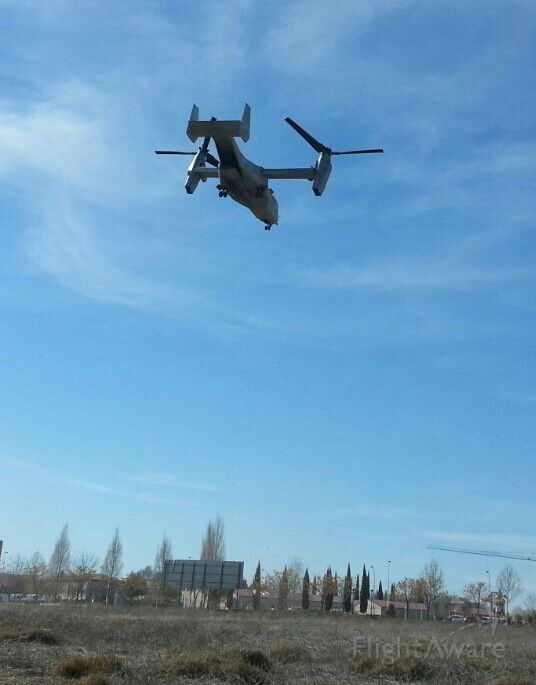 Bell V-22 Osprey — - EEUU V22 Osprey <br />Landing Exercise During the drill UME Daimiel 2015 - Spain