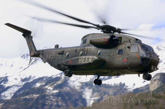 VFW CH-53G (N8426) - Monster in the mountains