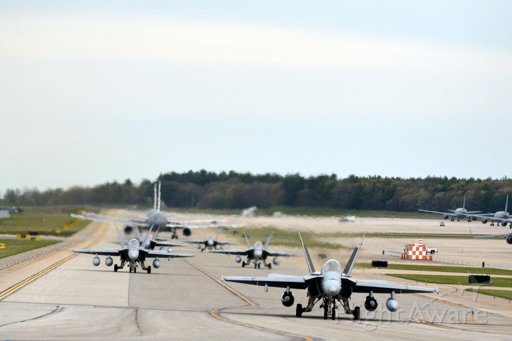 16-4950 — - 6 FA18C's from VMFA-(AW)234 from MCAS Beaufort South Carolina