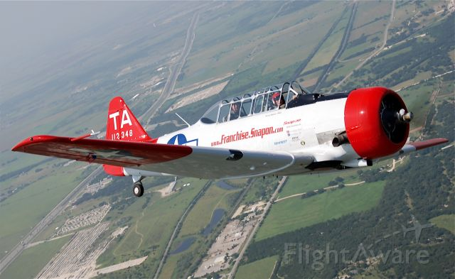 — — - Navy SNJ -- T-6 to the AF guy