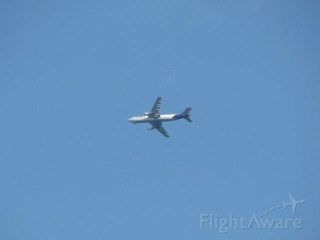 Airbus A300F4-600 (N749FD) - FedEx 712 on Approach to Gerald R. Ford Intl. (KGRR) from Memphis Intl. (KMEM). This was on July 11, 2012.