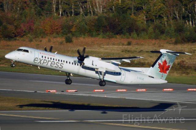 de Havilland Dash 8-400 (C-GXJZ)
