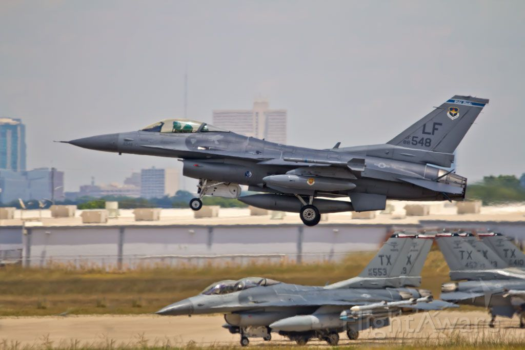 — — - Luke AFB F-16 landing in JRB