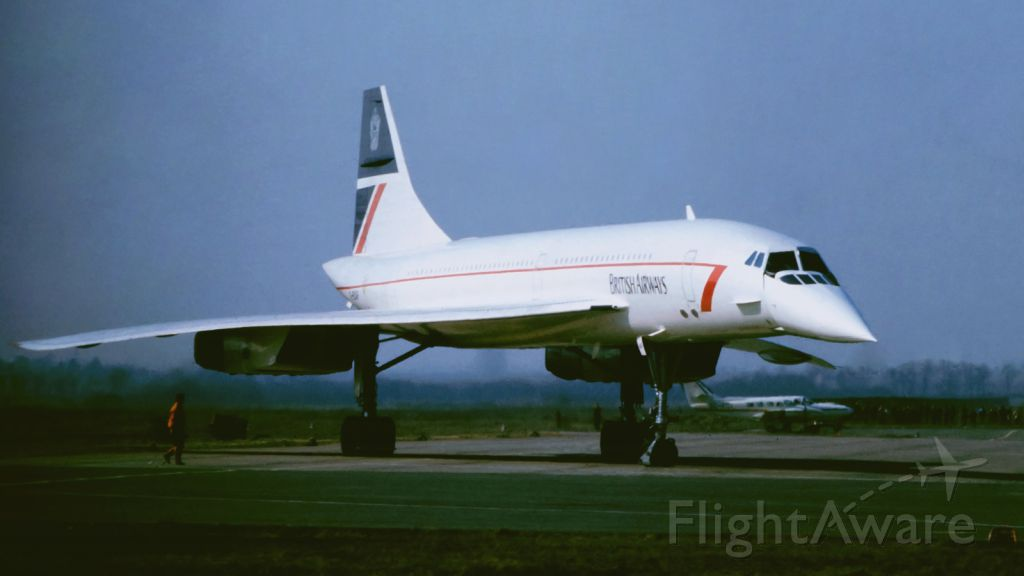 Aerospatiale Concorde (G-BAOF) - Leipzig (former East Germany) Exhibition March 1988 when I was 14 years old
