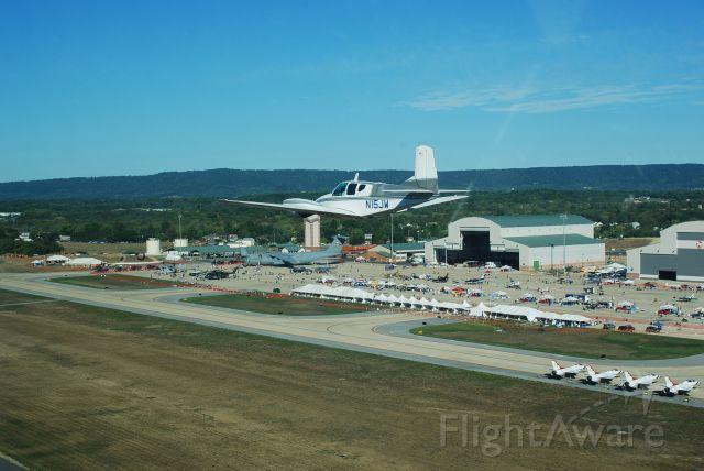 Beechcraft Travel Air (N15JW) - Low Approach over The Thunderbirds