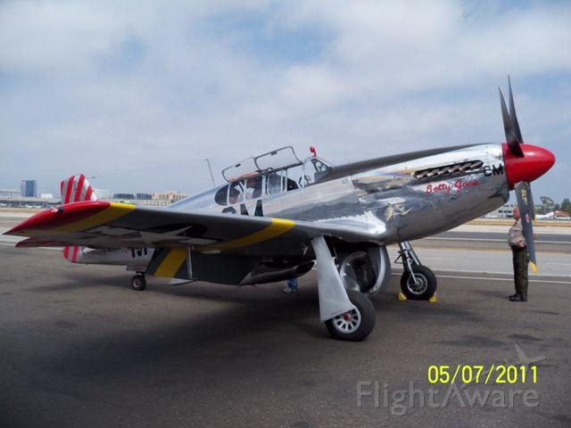 42103293 — - Shot of Collings Foundation P-15C Razor Back.