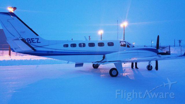 Cessna Conquest 2 (SVX45) - N128EZ in Nuiqsut, AK PAQT