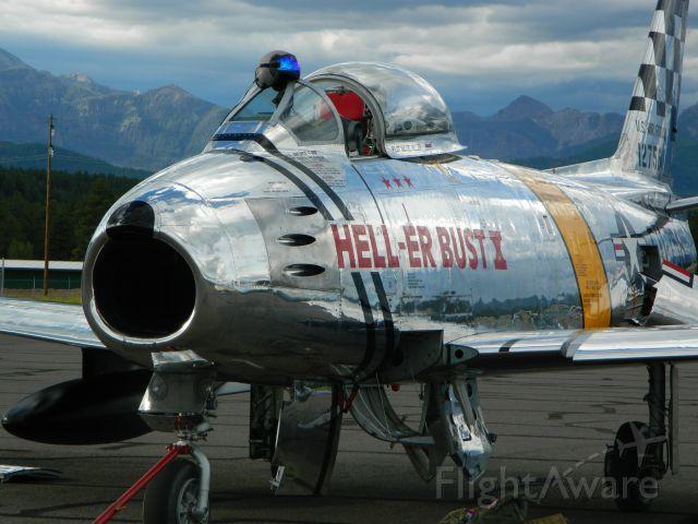North American F-86 Sabre (N12756) - Cool...huh?
