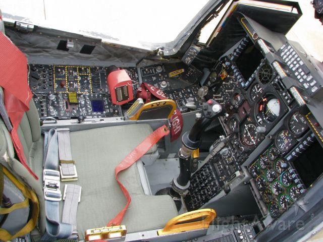 Fairchild-Republic Thunderbolt 2 (79-0090) - A-10 Cockpit.