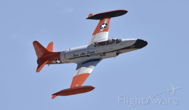 Lockheed T-33 Shooting Star (N377JP) - Planes of Fame Airshow Chino CA