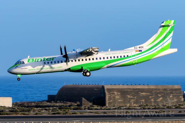 Aerospatiale ATR-72-600 (EC-MSK)