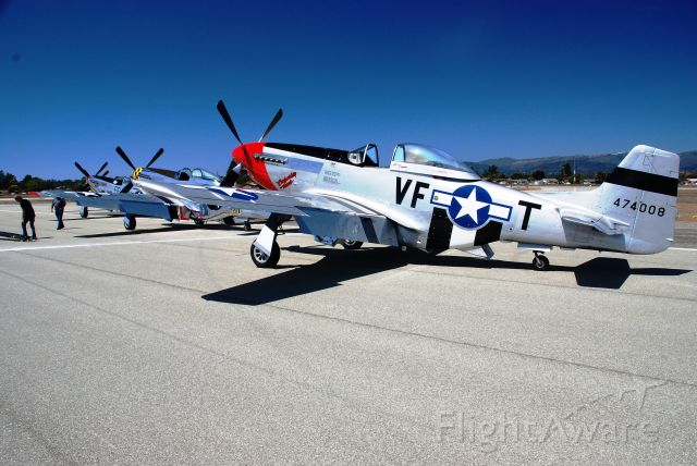North American P-51 Mustang — - Mustangs at the Watsonville Air Show....Nice!!