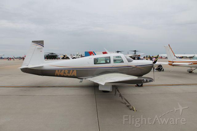 Mooney M-20 (N43JA)