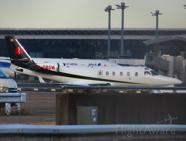 IAI Gulfstream G100 (C-GBSW) - I took this picture on Dec 22, 2020.br /NRT-TPE