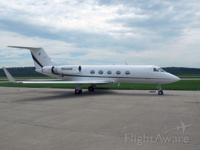 Gulfstream Aerospace Gulfstream 3 (N500GF) - Very nice aircraft. Please note the stage 3 hushkit.