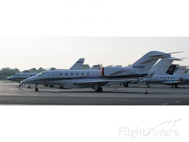 Cessna Citation X (N200CQ) - the fastest business jet in the market. No location as per request of the aircraft owner.