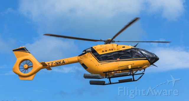 T7-NKA — - This yellow bird keep avoiding me but yea got you T7-NKA droping for some pax at St Maarten.