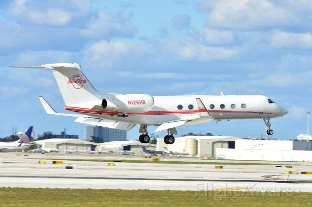 Gulfstream Aerospace Gulfstream V (N126HR)