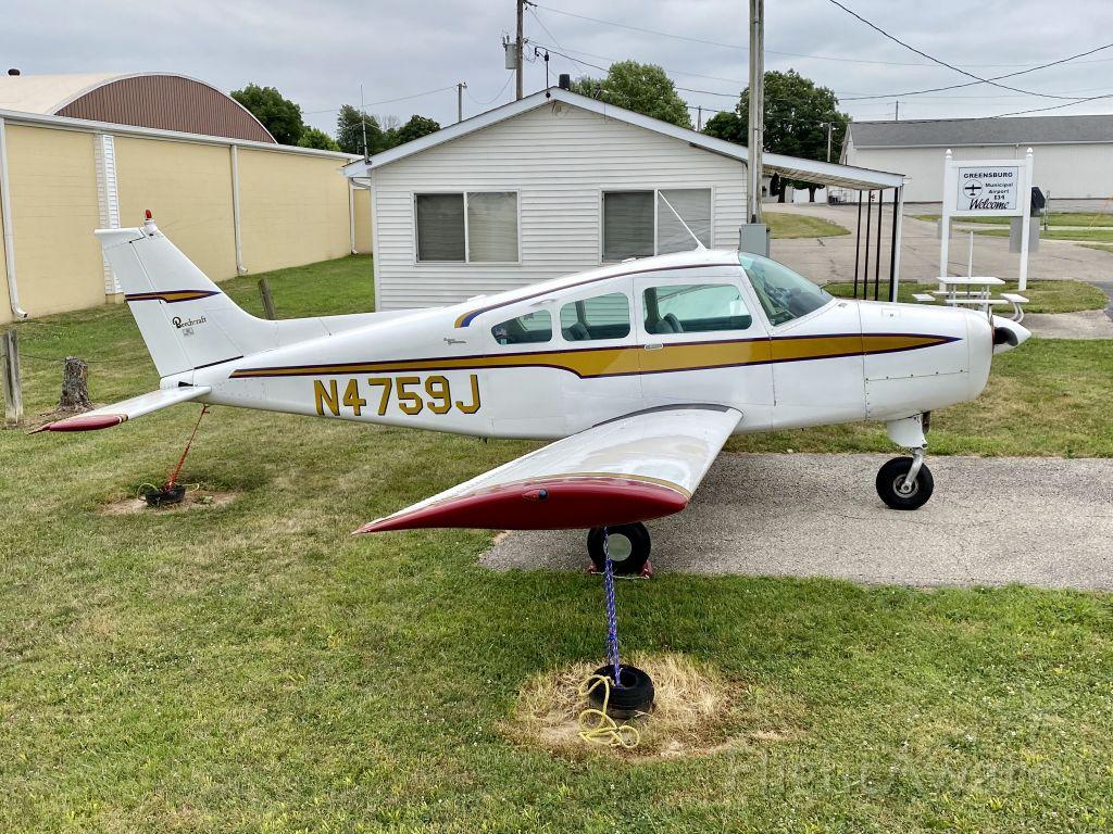 Beechcraft Sierra (N4759J) - Greensburg, IN 7/16/2020.