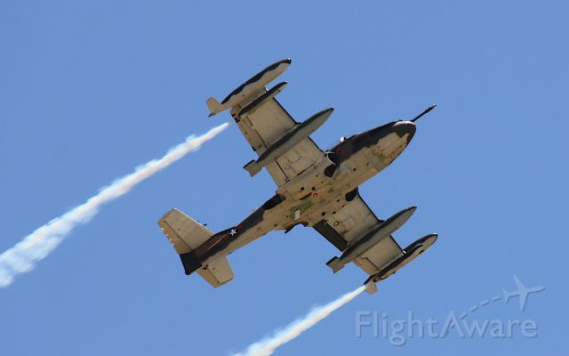 VH-DLO — - Cessna A-37B Dragonflybr /Manufactured in 1969, USAbr /Photo: 21.11.2015