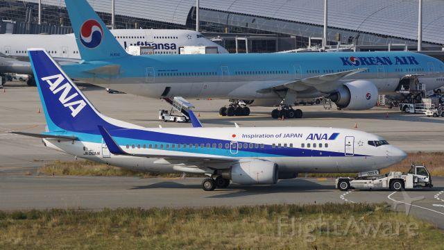 Boeing 737-700 (JA06AN) - 回送中