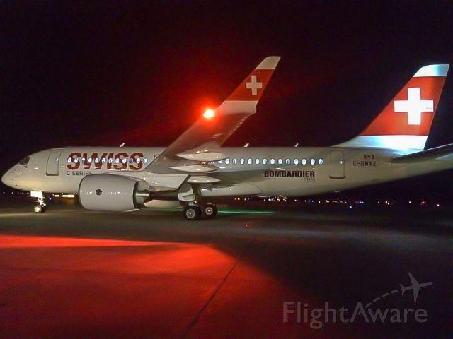 Bombardier CS100 (C-GWXZ)