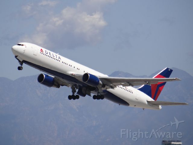 BOEING 767-300 (N127DL) - Los Angeles Airport March 2014. 3/30/14