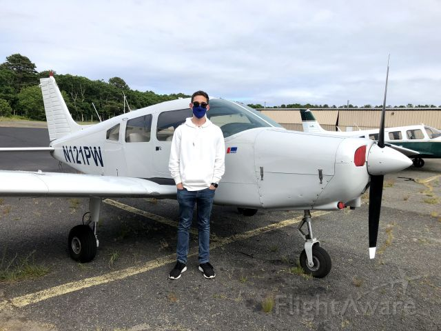 Piper Cherokee (N121PW) - First flight lesson out of East Hampton