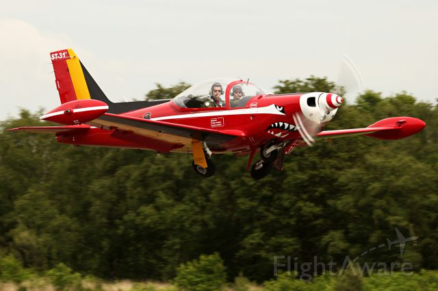SIAI-MARCHETTI Warrior (BAFST31) - Picture taken at the 22nd of mai 2014 16.00 local.