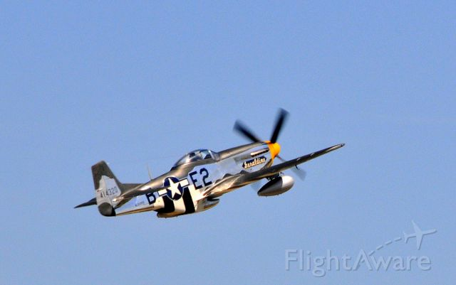 North American P-51 Mustang (N5500S) - 08272011  Wings Over Waukesha Airshow