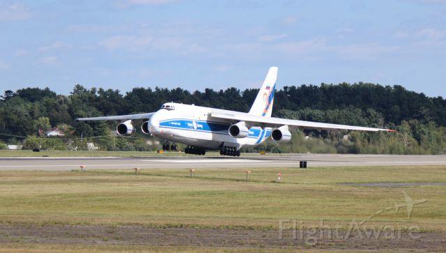 Antonov An-124 Ruslan (RA-82044) - Heavy Antonov arriving for a fuel stop at KBGR on a flight to Frankfurt, Germany.