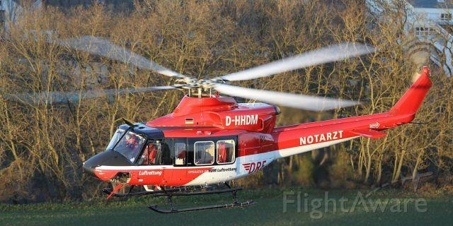 Bell 412 (D-HHDM) - 01.01.2016,letzten Bell 412 Rettungshubschrauber geht in Ruhestand (DRF)