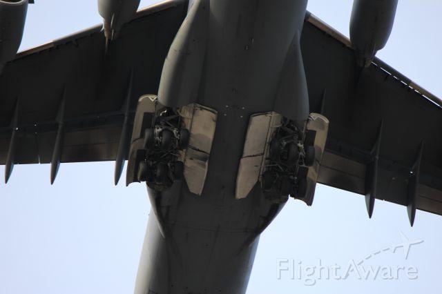 Boeing Globemaster III — - Main Gear bay of the C-17.