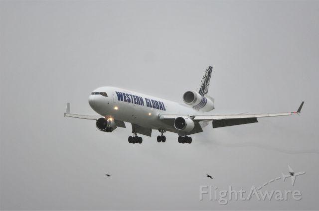 Boeing MD-11 (N546JN) - western global md-11f n546jn landing at shannon from dubai 30/9/19.