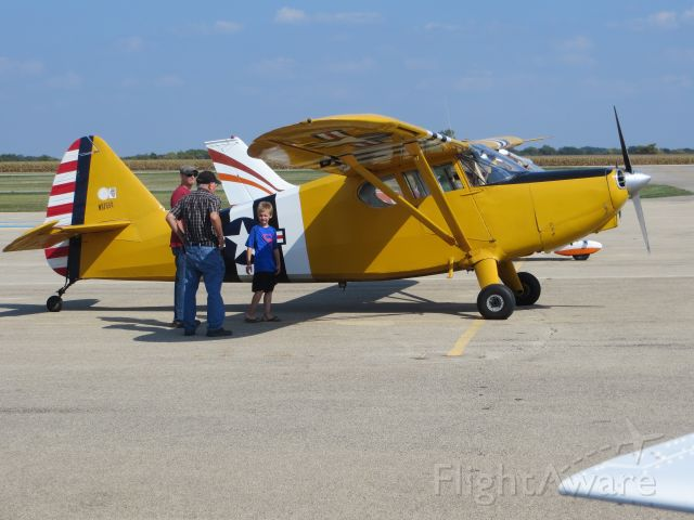 Piper 108 Voyager (N97694) - Stinson Voyager 108. Young Eagles flight on 9/16/17.