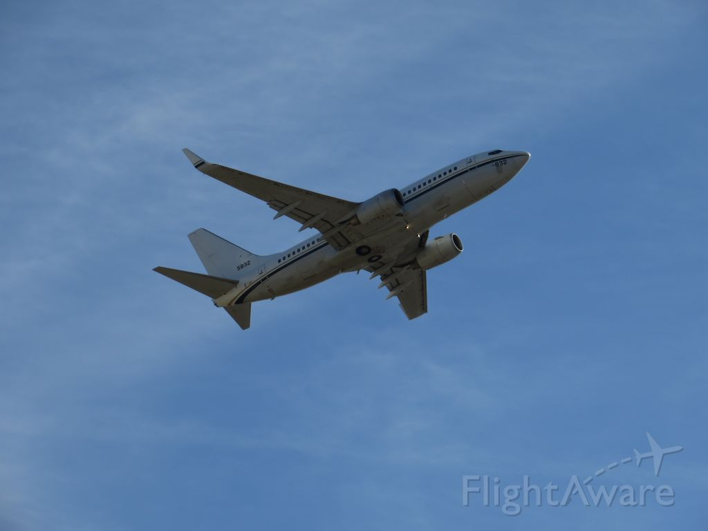 5832 — - I think this is probably a Boeing C-40